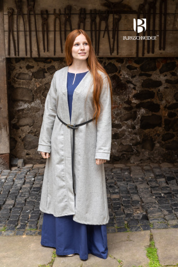 Birka Coat Aslaug - Wool Grey