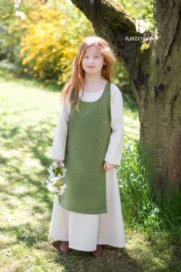 Different Colors for Childrens Overdress with Underdress
