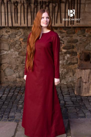 Burgundy Viking Underdress Feme by Burgschneider