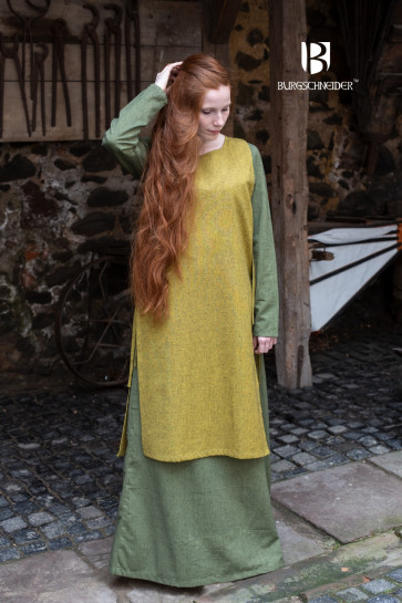 Outer Garment Haithabu - Saffron Yellow