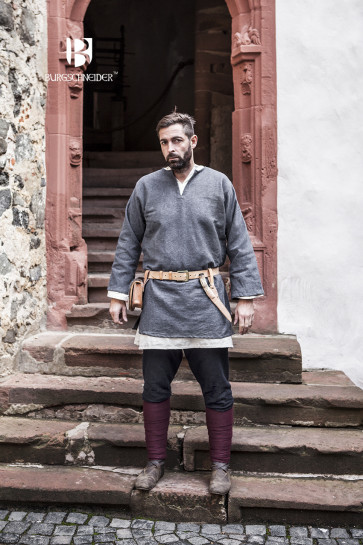 Medieval Garment Set with germanic Thorsbergpants, Undertunic and Tunic in different Colors
