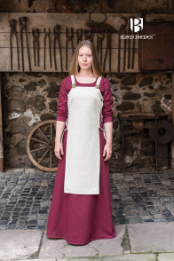 Apron Dress Gyda - Hemp