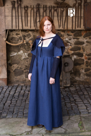 Sleeves Fride - Wool Blue