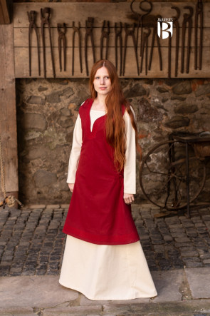 Dress Lannion - Red