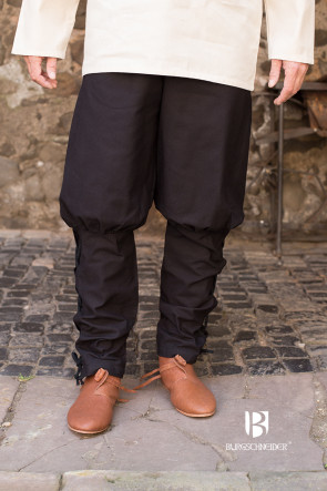 Medieval Pants Wigbold by Burgschneider in black