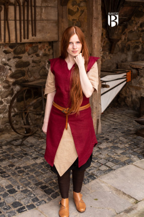 Tunic Meril - Wool Red