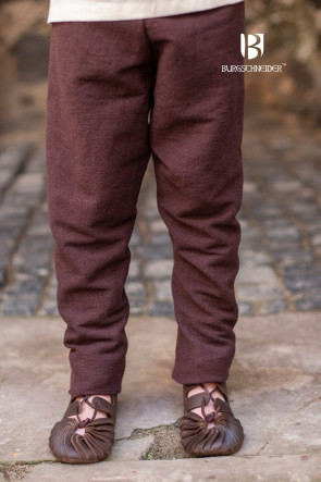 Children's Thorsberg Pants Ragnarsson - Brown