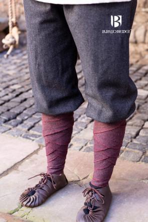 Rus Pants Tilda Herringbone - Black/Grey