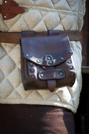Belt Pocket Tilia small - Brown