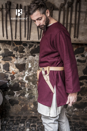 Wool Tunic Lodin - Red