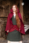 Cape Affra - Wool Red