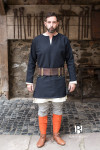 Short tunic Erik - Black