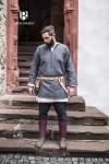 Short tunic Erik - Grey