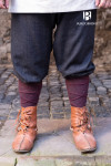Rus Pants Ivar Herringbone - Black/Grey