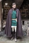 Hooded Cloak Hibernus - Wool Brown