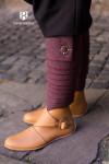 Wool Winingas Asgar - Burgundy/Grey