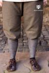 Rus Pants Tilda Herringbone - Olive/Grey